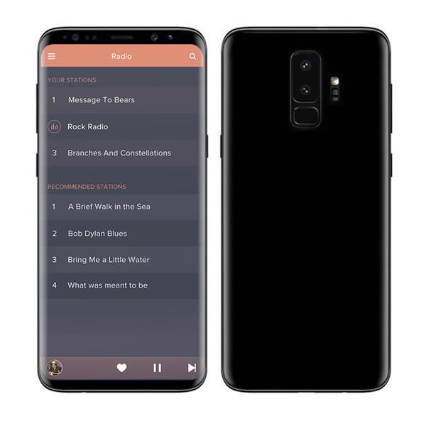 6.2 inch Goophone 9Plus Quad Core MTK6580 1GB RAM 16GB ROM Real Fingerprint Unlocked Cell Phones