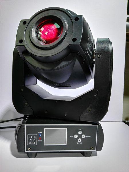 O equipamento DJ da iluminação da fase de prisma de 3 facetas 90W conduziu a luz principal movente do teste padrão do ponto para o partido do evento da fase