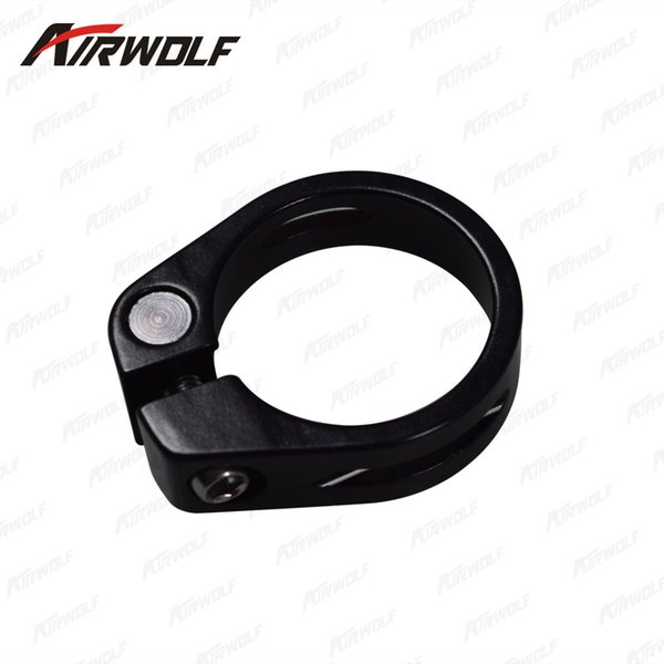 China factory bike parts seat post clamp 31.8mm/34.9mm seat clamp fit for mountain bike/ road bike clip bicycle saddle clamp