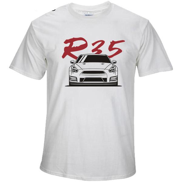 4a8f2dd517 2018 Verão Novo High End Man Nissan Gt Camisetas Nissan R33 Skyline  Camisetas Jovens Homens Xs