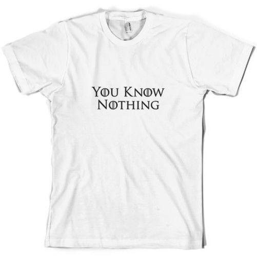 Ты ничего не знаешь Мужская футболка Ночи Смотри телевизор 10 цветов