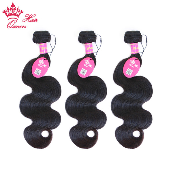 best selling Queen Hair 100% UNPROCESSED Brazilian Virgin BEST TOP Quality Hair Weave Body Wave DHL Free Shipping
