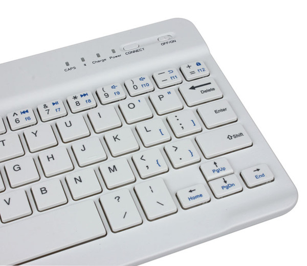 Beautiful Gift New Ultra Slim Aluminum Wireless Bluetooth Keyboard For IOS Android Windows PC Wholesale price Sep23 hh33