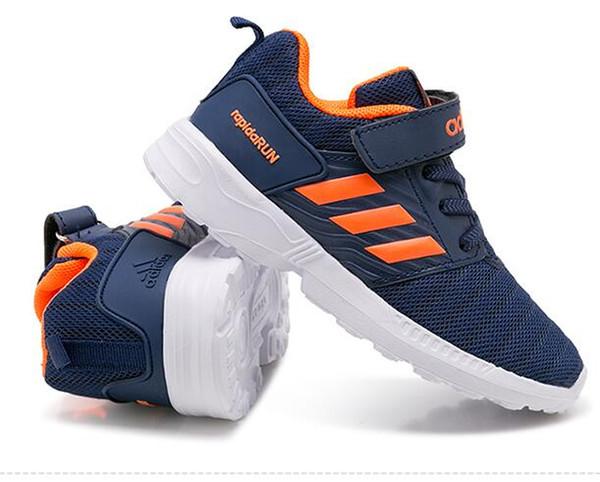 423b343d5547 Детские кроссовки мальчиков кроссовки девочки кроссовки ребенок отдыха  тренеры дышащей дети обувь европейский размер обуви