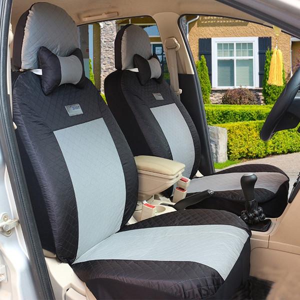 (Avant + Arrière) Housses de siège de voiture universelles Pour Nissan Qashqai Note Murano Mars Teana Tiida Almera Accessoires auto X-trai
