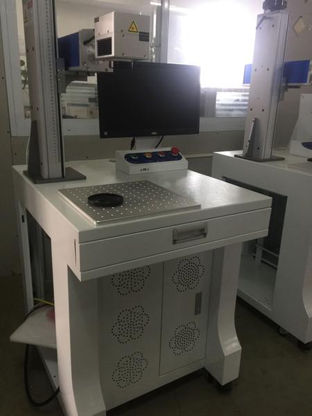 Metal / acero / oro / plata / logo / PCB / teclado máquina de marcado láser de fibra precio / grabado láser portátil con rotativo