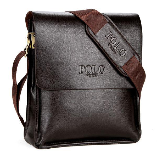 2018 New Brand PU Leather Men Shoulder Bags Male Retro Messenger Bags High Quality Handbag for Men Solid Briefcase Bag