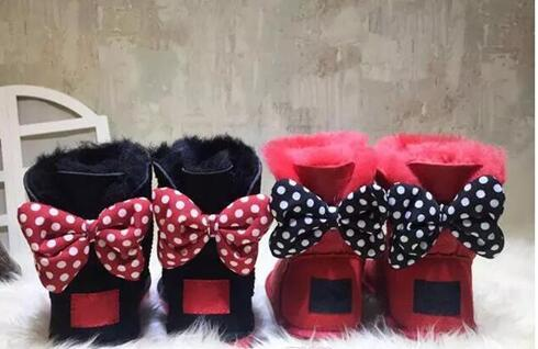 2018 Brand new Classic high quality WGG Mickey Australia classic tall winter boots real leather Bailey Bowknot women's bailey bow snow boot