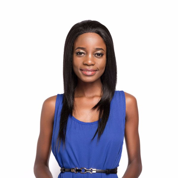 """Cheap Lace Wig Free Part Glueless 18"""" Kanekalon Ombre Two Tone Colors Heat Resistant Long Straight Synthetic Wigs For Black Women"""