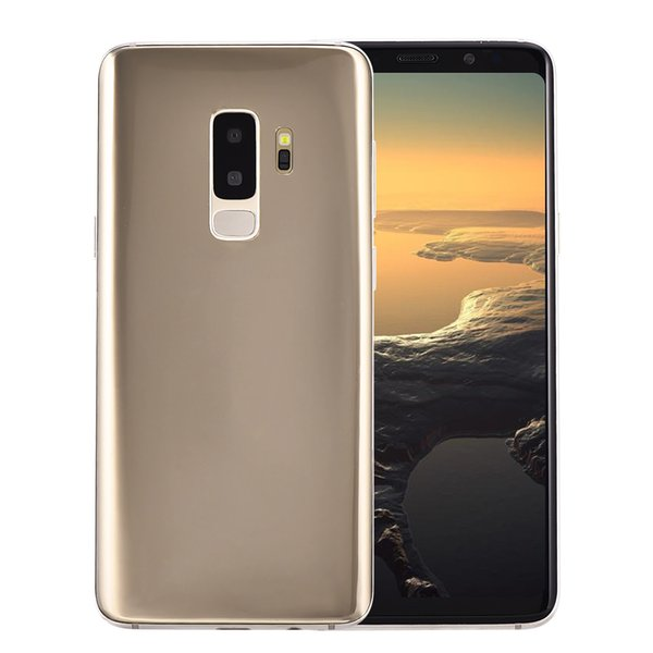 top popular Cheap Goophone S9+ Clone 2G GSM Unlocked 5.72 inch IPS 960*540 HD Dual Core MTK6572 512MB 512MB+32GB GPS WiFi 2MP Camera S9 Plus Smartphone 2019