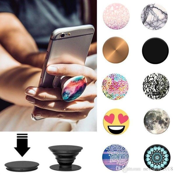Details about Multifunctional Universal Popular Portable Airbag Mobile Phone Grips Stand Mount #209