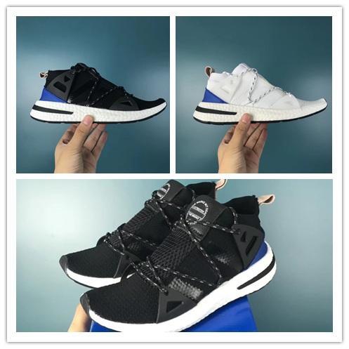 New Arrival luxury ARKYN Ash Pearl Primeknit TPU White Black Women men Running Shoes For autumn winter sport lightweight walking sneakers