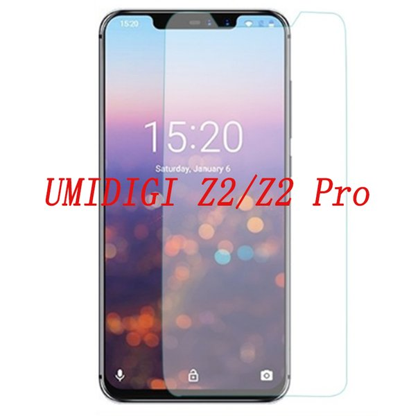 Smartphone Tempered Glass for UMI UMIDIGI Z2 / Z2 Pro 9H Explosion-proof Protective Film Screen Protector cover phone