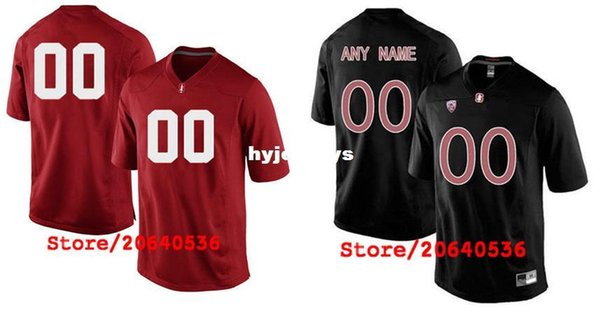 Cheap Custom STANFORD CARDINAL College jersey Mens Women Youth Kids Personalized Any number of any name Stitched black red Football jerseys
