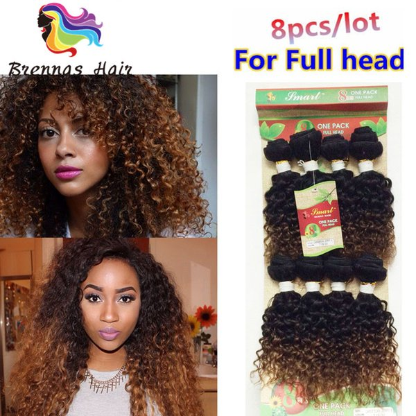 Cheap human virgin hair bundles 8 pieces/lot brazilian hair weave bundles afro kinky curly brazilian hair bundles for black women hairpeices