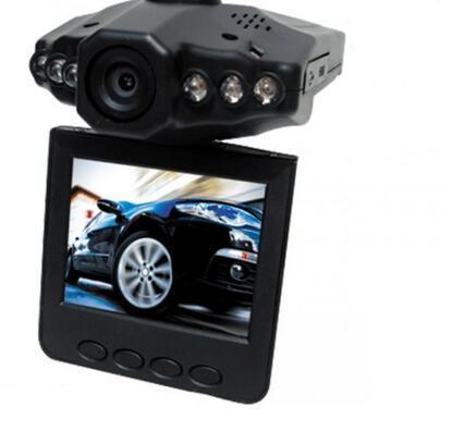 Portable Dash DVR Car Video Night Vision Vehicle Camera In-Car IR Recorder Cycle Recording Dash Cam Auto Camcorder freeship