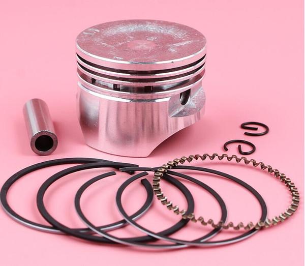 25 sets / lote 39mm Piston Ring Circlip Pin Kit para Honda GX35 GX35NT HHT35S GX 35 Trimmer generador de cortador de cepillo piezas del motor