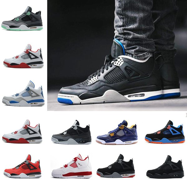 free shipping 22ff1 7a36b 2019 Mens Shoes 4 11Lab4 Basketball 11 Lab 4 Basketball Patent Leather Men  Shoess Sports Shoes 4S Sneakers Jumpman Shoes From Shoes4you, $91.75 | ...