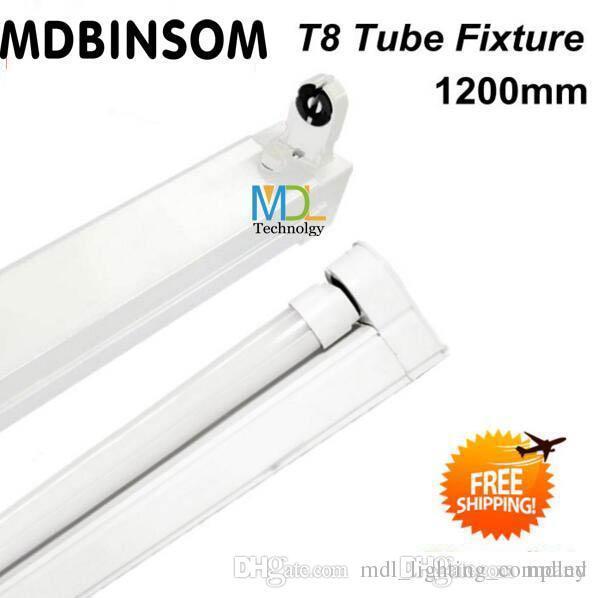 T8 LED Röhre Leuchte / Unterstützung / Halterung G13 Lampe, hochwertige LED Röhre Halterung 1,2 m 4 ft 0,9 m 3 ft 0,6 m 2 ft Stent Lampenfassung AC85-265V