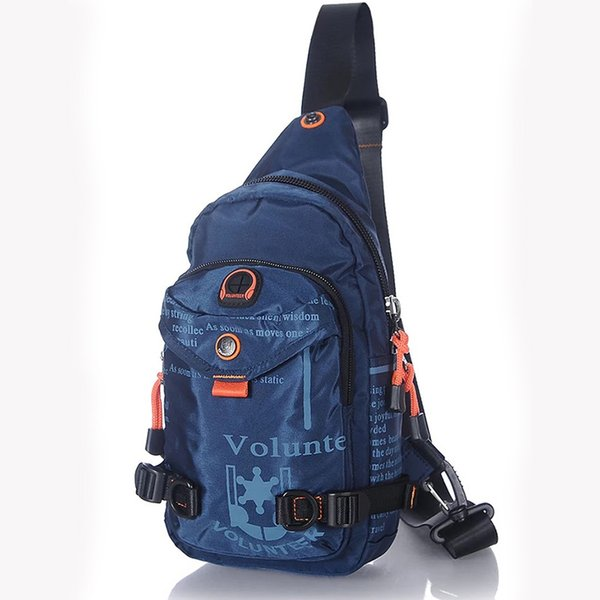 Sling Back Day Pack da viaggio di alta qualità Uomini Zaino da viaggio Moda Cross Body Shoulder Bags Maschio Oxford Messenger Chest Bag