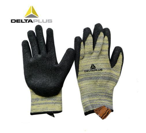 Latex Coated Cut Resistant Gloves Safety Work Gloves Heat Resistant Slip Resistant Anti-Scratch Work Gloves One Pair