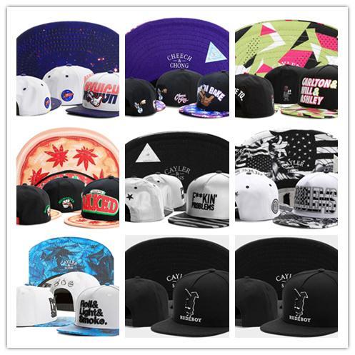 Free Shipping brand cayler and sons son snapback caps hip hop cap baseball hat hats for men women bones snapbacks bone gorras