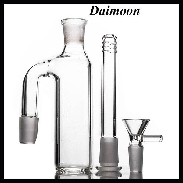 18mm ash catcher downstem perc set 90 degree glass ash catchers bubbler quality ashcatcher dab rig for bong adapter