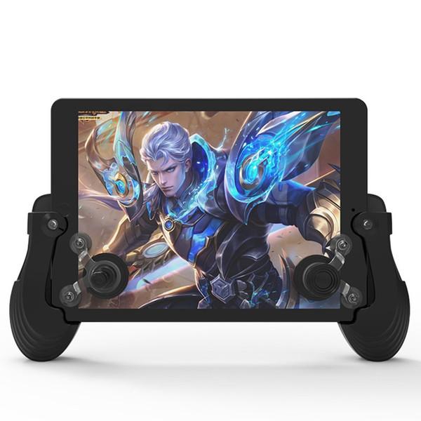 MASIKEN Mini Joystick Touchscreen Mobil Controller Gamepad für iPhone 7 8 + Griff Gamepad Joystick + Saugnapf für iOS Android