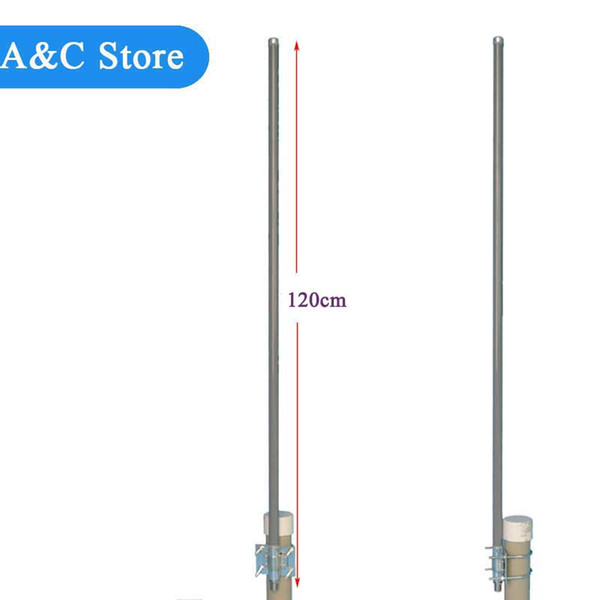 868MHz Antenna Omni Fiberglass 10dBi Outdoor Roof Glide Monitor Repeater  UHF Antenna RFID LoRaWAN Monitor Antenna Security Gadgets Electronic Sales