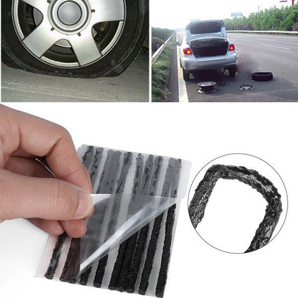 Strumenti di recupero di riparazione della gomma dell'automobile della spina della striscia della guarnizione tubeless della guarnizione per la perforazione 30Pcs / set della gomma