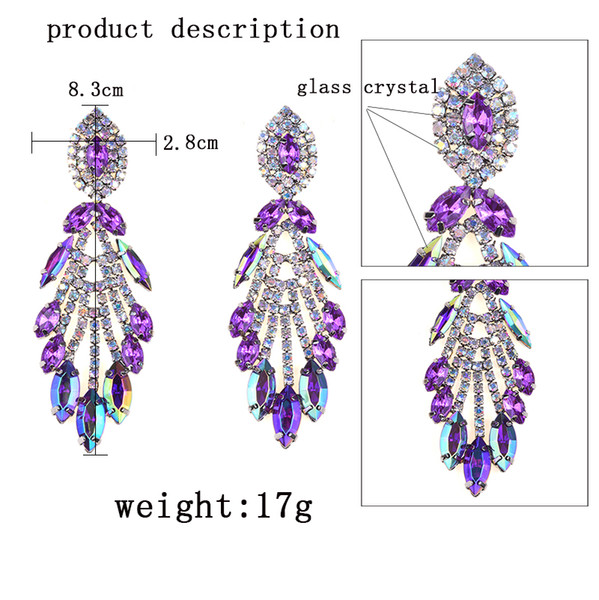 53ef20422b Crystal Glass Drop Earrings Coupons, Promo Codes & Deals 2019 | Get ...
