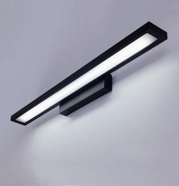 Lampade Per Bagno Da Specchio.Acquista Lampada Da Specchio Bagno Moderna Minimalista Alluminio
