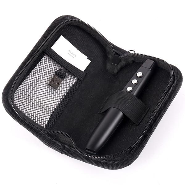 RF 2.4GHz Wireless Presenter Pen With Laser Pointer USB PowerPoint PPT Presenter Remote Control Pointer Pen+Bag