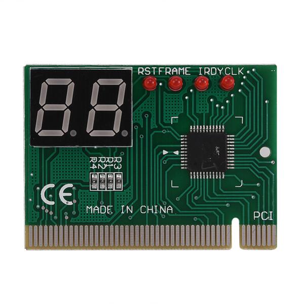 Freeshipping neue 2 Digit PCI PC Diagnosekarte Motherboard Tester Analyzer Beitrag für LAPTOP Power On Self Test Card