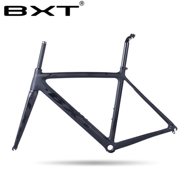 fabrik preis rahmen carbon rennrad matt Carbon Racing Fahrrad Frameset ultraleicht 5 farbe 50/53/55 cm bicicleta rahmen