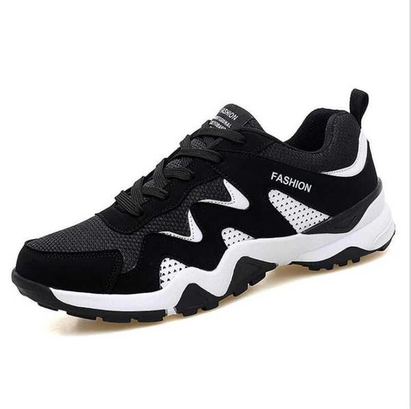 4c15e16f7768 Zapatillas de deporte Low Top para hombre Zapatos de amante Zapatillas de  deporte para adultos Zapatos Zapatillas de running 3 Colores Talla 39-44 Zapato  de ...