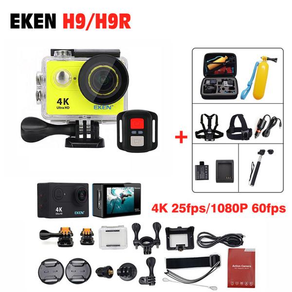 4K Ultra WIFI Action Camera EKEN H9R / H9 2 Sports HD 1080P 60fps underwater deportiva go waterproof 4 K 170D mini pro sport Cam