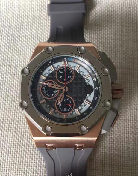 fashion Mens Chronograph Watches Steel Date Royal Rubber Men Offshore Sport Men's Black Leather diver men wristWatches