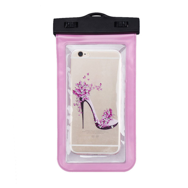 For Iphone 6 waterproof bag outdoor summer Waterproof Case Bag PVC Protective Universal Phone Case bag swimming hot spring cellphone pouch