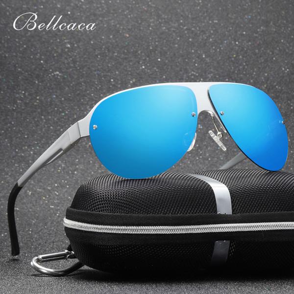 92fd94c01 Bellcaca óculos polarizados homens moda marca designer motorista óculos de  sol para o sexo masculino segurança