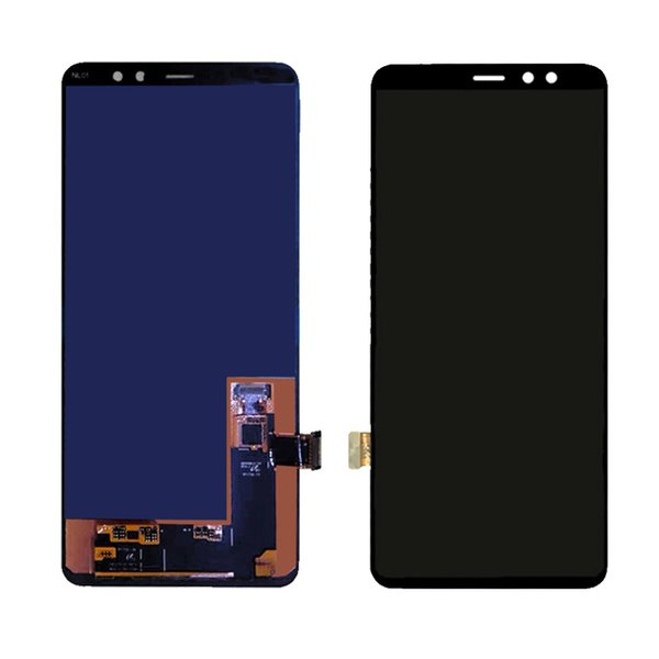 NEW ORIGINAL SUPER AMOLED LCD Screen for SAMSUNG Galaxy A8 Plus 2018 A730 A730x Display Touch Digitizer Replacement
