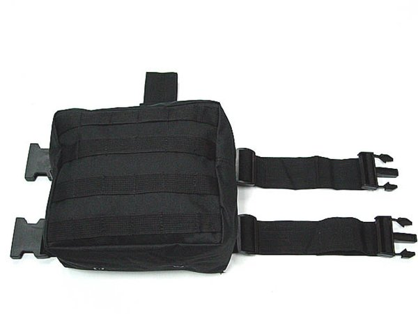 Molle Drop sports bag Leg Panel Utility Waist Pouch Carrier Bag BK OD CB ACU Camo Woodland