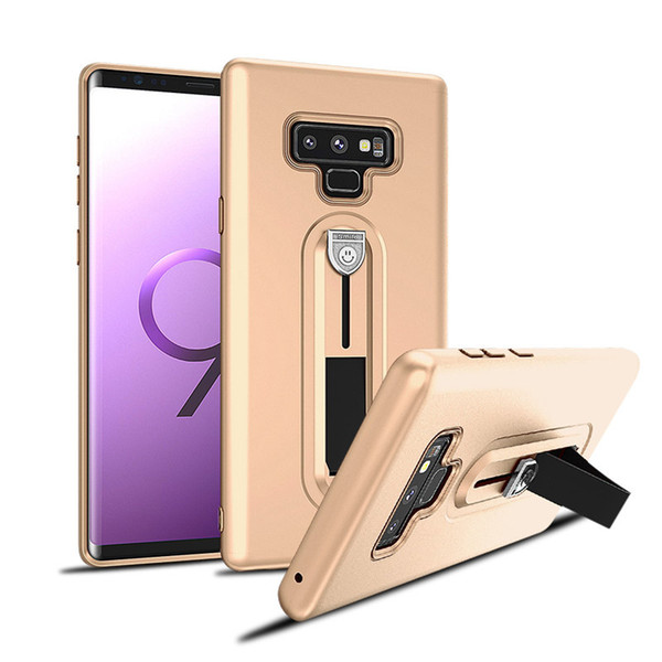 For Samsung Galaxy note 9 Fuel injection TPU mobile phone case touch oil telescopic support cover For Samsung note 9 phone case B