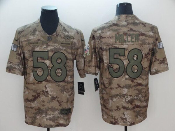 on sale 98313 ce321 2019 2019 Von Miller Camo Jersey Denver Broncos Demaryius Thomas Salute To  Service Limited American Football Jerseys Stitched Soccer 4xl 5xl 6xl From  ...