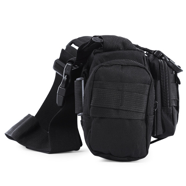 Tactical Camping Hiking Bike Climbing Sport Military Army Travel Waist Pack Hand Carry Pouch Shoulder Bag Tactical Bags +B