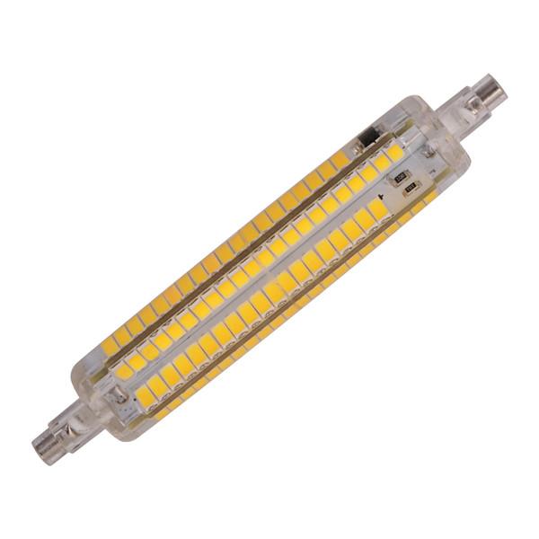Interruptor regulable R7S LED luz de maíz SMD 5730 led r7s Bombilla 12W AC210-240V Maíz reemplazo de lámpara bombilla halógena R7S