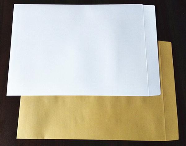 10PCS Kraft Envelopes Self Adhesive Blank Envelope Multi-Size Stationery Gift Card Photo Letter Storage Office School Supplies