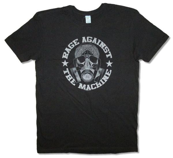 Rage Against The Machine Bandana Mask Black T Shirt New Official Ratm Summer Short Sleeves New Fashion T-shirt