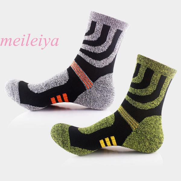 MEI LEI YA 10 Pairs / Bag New High Quality Harajuku Style Men's Socks Fashion Tide Socks Middle Tube Hot Men 2 Color