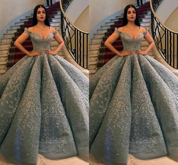 Fashion Corset Quinceanera Dresses Off Shoulder Lace Appliques Beaded Formal Party Gowns Ball Gown Prom Dresses